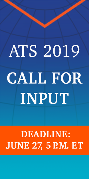 2019 call for input