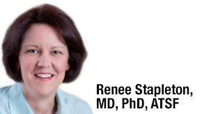 Renee Stapleton MD, PhD, ATSF