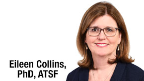 Who's Who: Eileen Collins, PhD, ATSF